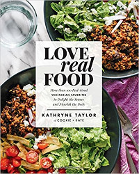 Love real food vegetarian cookbook