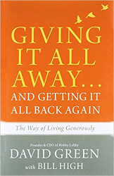Giving it all away David Green